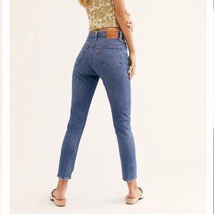 FP Levi's 501 Skinny Jean